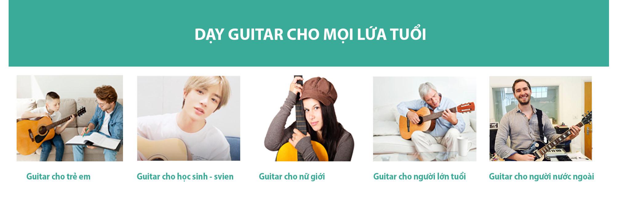 day kem dan guitar